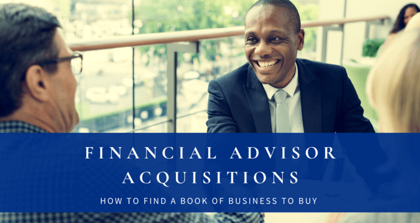 financial advisor acquisitions